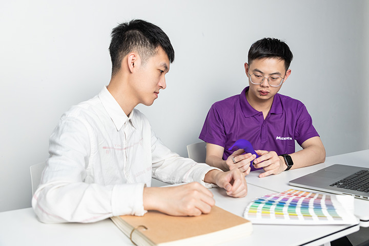 professional team members are working on the sex toy solutions